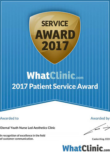 What Clinic Customer Service Award 2017